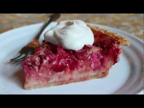 Strawberry Rhubarb Custard Pie – The Best Strawberry Rhubarb Pie Recipe
