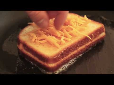 Food Wishes Recipes – Inside-Out Grilled Cheese Sandwich – Ultimate Cheese Sandwich