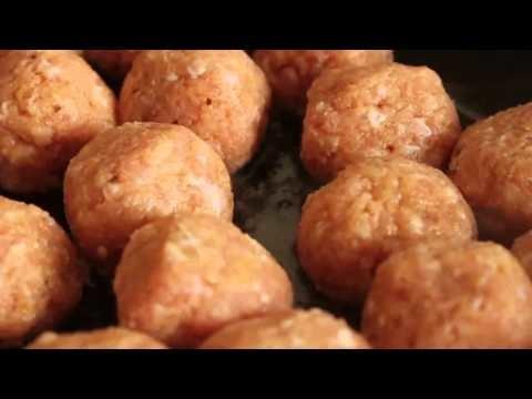 Turkey Cocktail Meatballs with Orange Cranberry Glaze – Foodwishes
