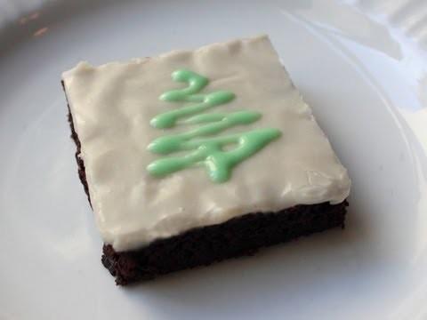 Chocolate Mint Brownies – Christmas Brownie Recipe