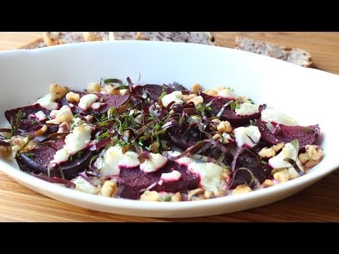Roasted Beets with Goat Cheese and Walnuts – Easy Roast Beets Recipe