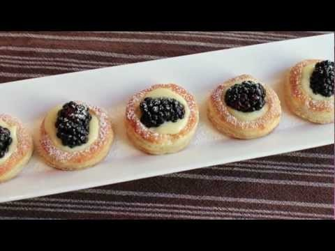 Lemon Berry Tartlets – How to Make Easy Mini Lemon Tarts