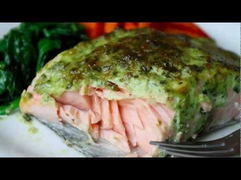 Broiled Herb-Crust Salmon Recipe – Easy Broiled Fish Technique