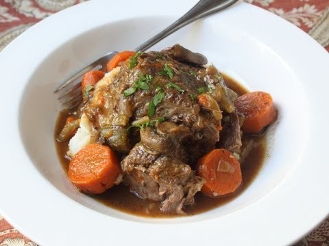 Slow Cooker Beef Pot Roast Recipe – How to Make Beef Pot Roast in a Slow Cooker