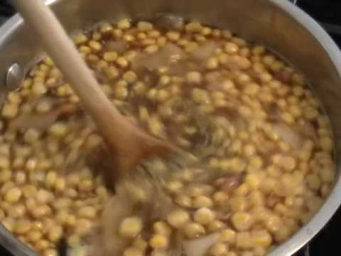 Bumblebee Soup – Bacon, Black Bean, Corn Chowder Recipe