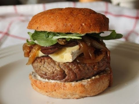 How I Cook Burgers – Chef John Likes His Meat Pink