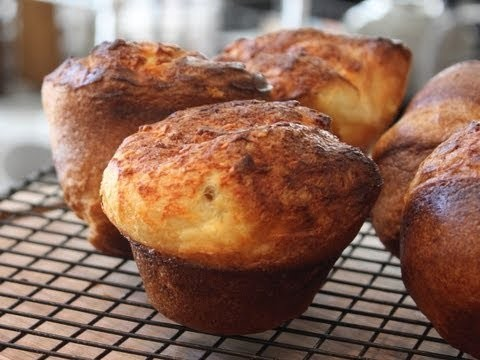 Popovers! NOT Yorkshire Pudding –  How to Make Popover Dinner Rolls