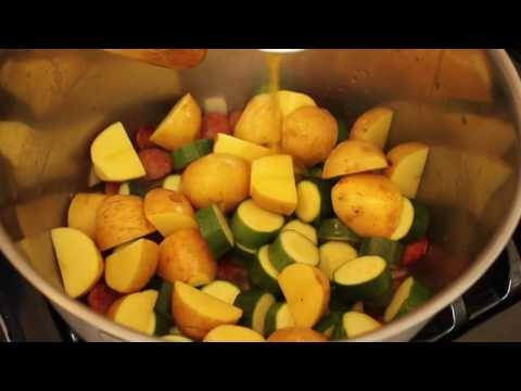 Food Wishes Recipes – Sausage, Zucchini, Potato Stew Recipe – How to Make Sausage Vegetable Stew