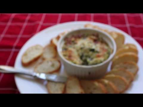 Spinach Artichoke Dip Recipe – Hot Spinach and Artichoke Super Bowl Dip