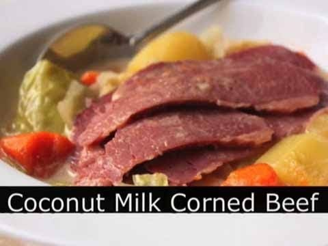 Coconut Milk Corned Beef and Cabbage – Foodwishes