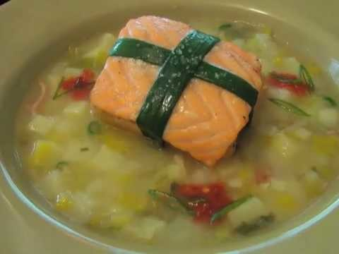 Valentine's Salmon – Belly-Wrapped Salmon, Potato, and Leeks