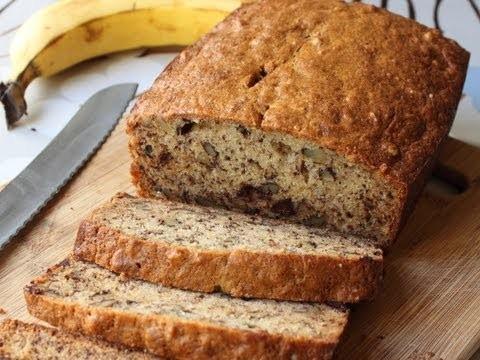 Banana Bread Recipe – Chocolate Banana Nut Loaf