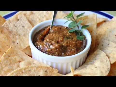 Fire-Roasted Tomato Salsa Recipe – Fire-Roasted Cherry Tomato Salsa
