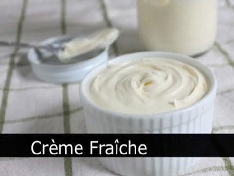 Homemade Creme Fraiche! How to Make Sour Cream – Foodwishes