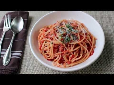 Spaghetti al Tonno Recipe – Spaghetti with Spicy Tuna Sauce