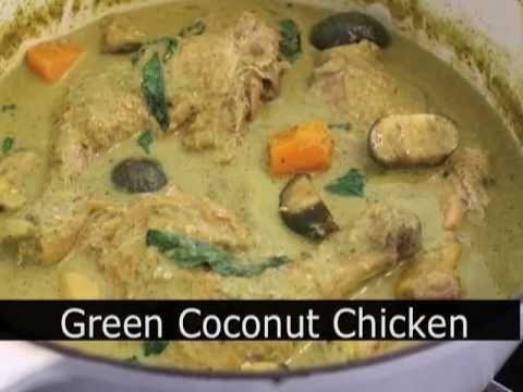 Food Wishes Recipes – Green Coconut Chicken Recipe – Coconut Milk Curry Chicken
