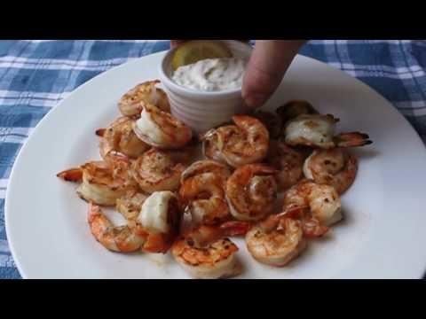 Food Wishes Recipes – Grilled Shrimp with Lemon Aioli Recipe – Grilled Shrimp Recipe with Cured Lemon Aioli