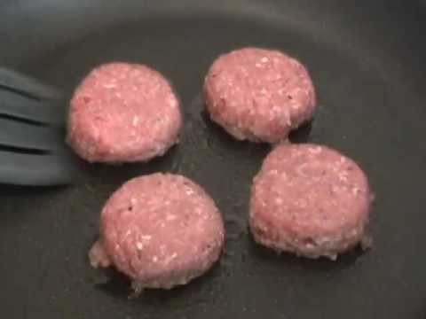 Beef Sliders – Mini Beef Burgers
