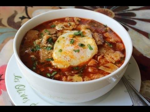 Spanish Garlic Soup – Sopa de Ajo Recipe – Bread and Garlic Soup