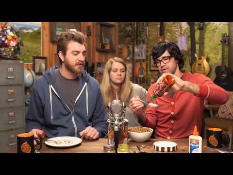 We Eat Glue & Baby Food w/ Sriracha