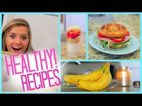 Healthy Food Ideas! Breakfast Lunch and Snacks | Fitness