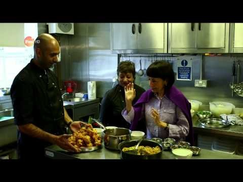 Gujarati Rasoi on Good Food Channel with Madhur Jaffrey