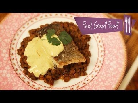 CURRIED LENTILS & COD: FEEL GOOD FOOD