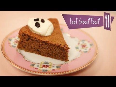 COFFEE & ALMOND CAKE (GLUTEN FREE): FEEL GOOD FOOD