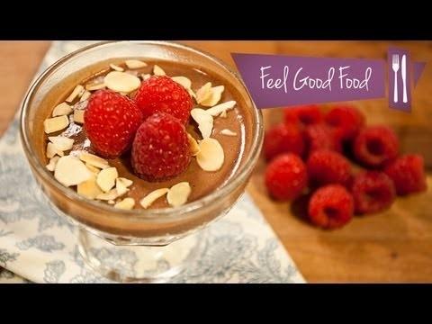SKINNY CHOCOLATE MOUSSE: FEEL GOOD FOOD