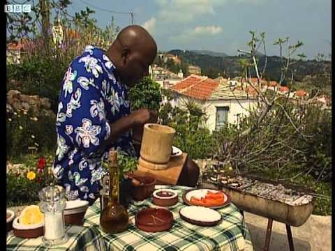 Ainsley's Greek Aubergines – Ainsley's Barbecue Bible – BBC Food