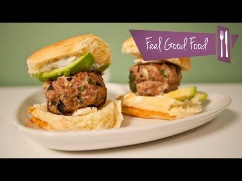 LEAN TURKEY BURGERS: FEEL GOOD FOOD