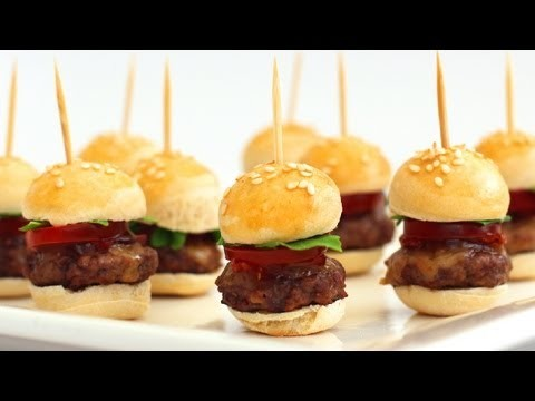 How To Make Mini Hamburgers – Finger Food Video Recipe