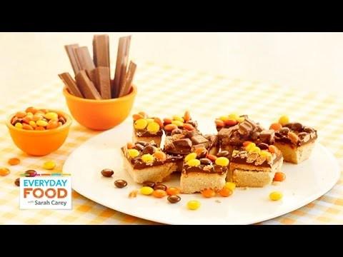 Halloween Candy Shortbread Bars – Everyday Food with Sarah Carey