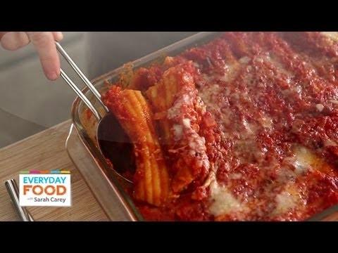 Susan's Manicotti – Everyday Food with Sarah Carey