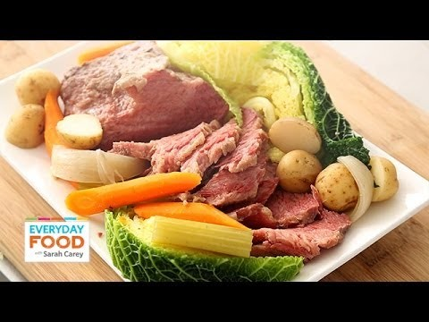 Slow-Cooker Corned Beef and Cabbage – Everyday Food with Sarah Carey