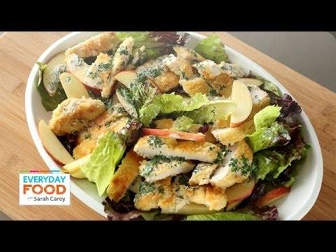 Crispy Chicken and Apple Salad – Everyday Food with Sarah Carey