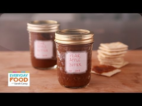 Slow-Cooker Apple Pear Butter – Everyday Food with Sarah Carey