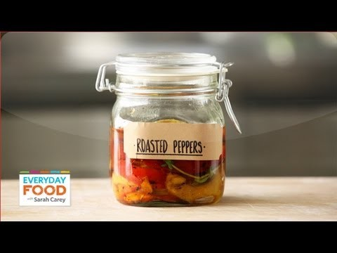 Roasted Bell Peppers – Everyday Food with Sarah Carey