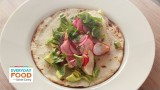Chipotle Chicken Tacos with Radish Slaw – Everyday Food with Sarah Carey