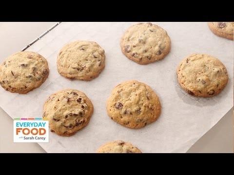 Chocolate-Pecan Cookies | Everyday Food with Sarah Carey