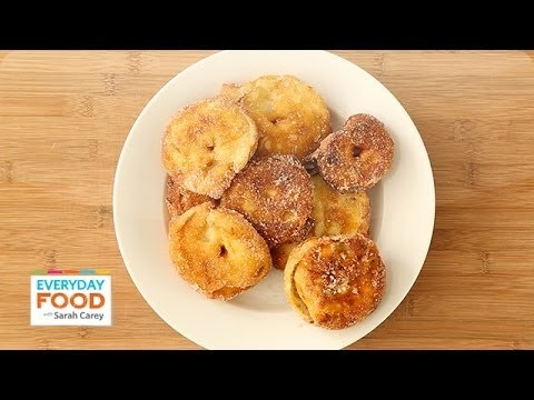 Apple Fritters for Hanukkah – Everyday Food with Sarah Carey