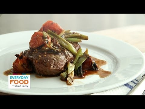 Grilled Flatiron Steak with Scallions – Everyday Food with Sarah Carey