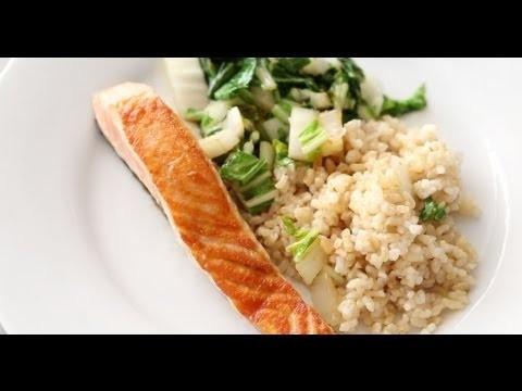 Seared Salmon and Greens | Everyday Food with Sarah Carey
