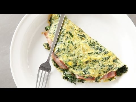 Green Eggs and Ham Omelet | Everyday Food with Sarah Carey