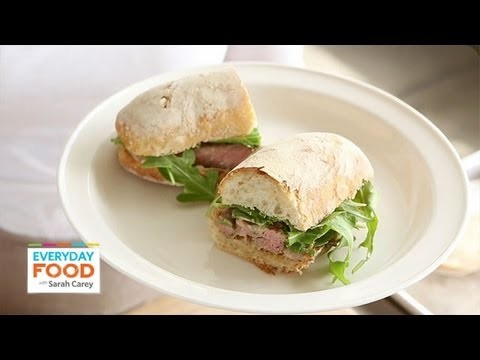 Steak Sandwiches with Creamy Shallots | Everyday Food with Sarah Carey
