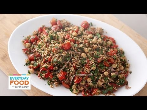 Roasted Tabbouleh – Everyday Food with Sarah Carey