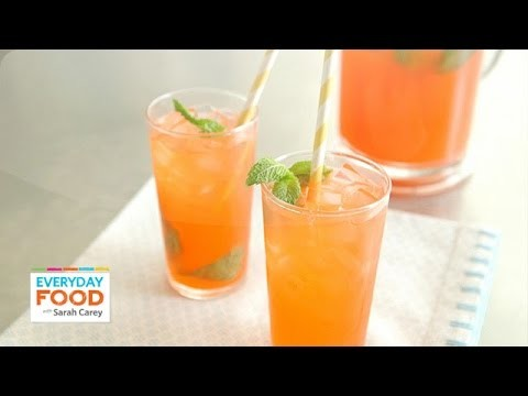 Strawberry-Mint Lemonade – Everyday Food with Sarah Carey