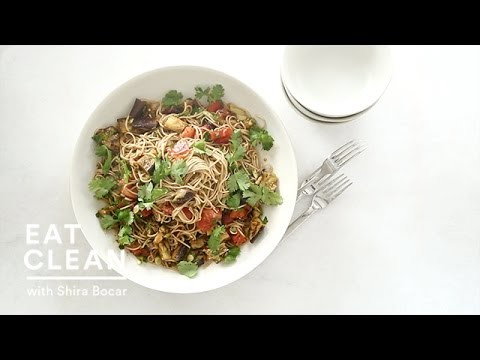 Make-Ahead Soba Salad with Charred Eggplant  – Eat Clean with Shira Bocar