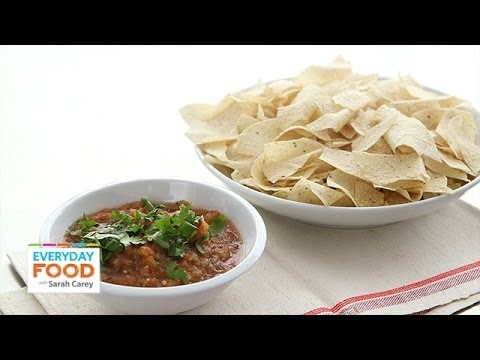Roasted Salsa Recipe – Everyday Food with Sarah Carey