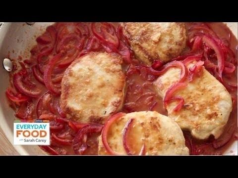 Pork with Tangy Citrus Sauce | Everyday Food with Sarah Carey
